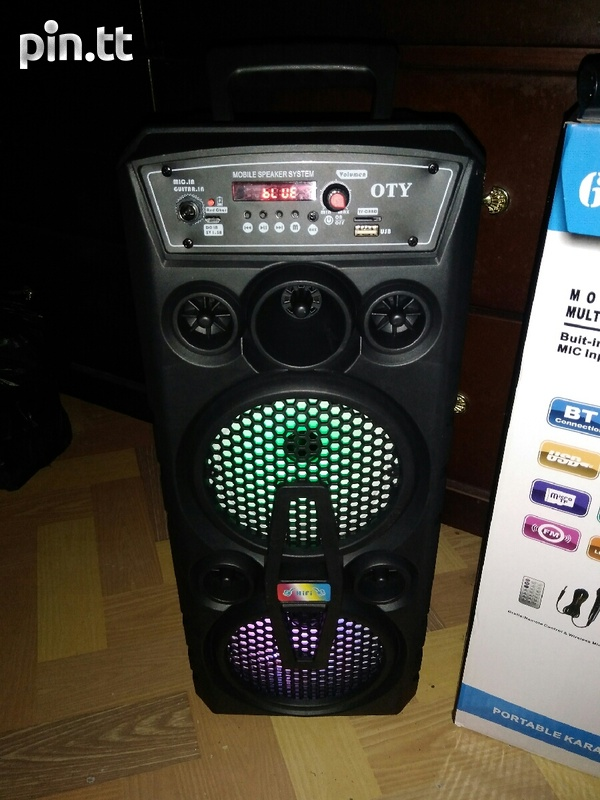 2000W OTY Portable, Bluetooth, Rechargeable Speaker-1