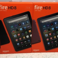 Amazon Fire HD 8 inch tablet with HD display