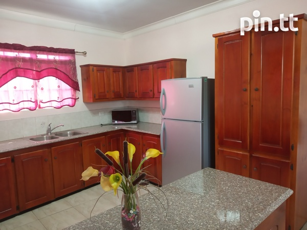 Furnished Two Bedroom Apartment, Lange Park Chaguanas-6