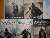 Assassin's Creed books by Oliver Bowden