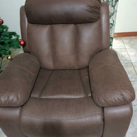 Leather seat recliner