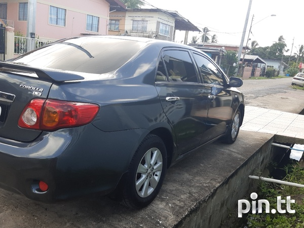 Toyota Corolla, 2008, PCL-7