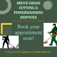 Bruce grass cutting and powerwashing services