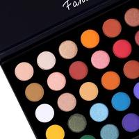 40 Colors High Pigmented Shimmer Matte Eyeshadow Makeup Palette Full