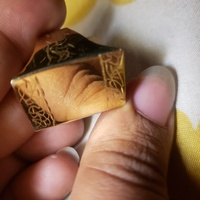 Gold Table Top Ring