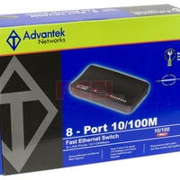 Advantek Networks 8Port Fast Ethernet Switch