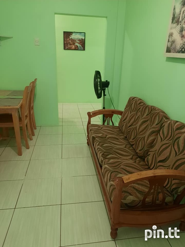 St Clair /Woodbrook - Fully furnished 1 bedroom/1 bath Apartment-4