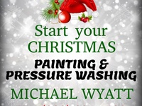 Christmas Painting, Pressure Washing, Window Cleaning