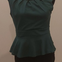 Emerald Green Work Dress