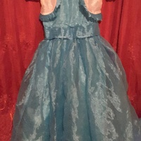Blue dress for 7 to 8 yrs