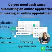 Assistance with Online Appointments/Application Forms