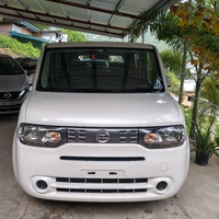 Nissan Cube, 2018, pearl white cube