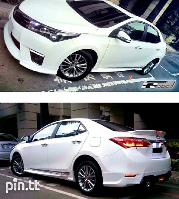 2014 - 2017 Corolla / Corolla Altis Body Kit-2