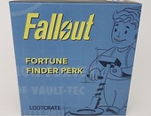 Fallout Fortune Finder perk figurine/ornament