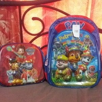 Book bag and lunch bag