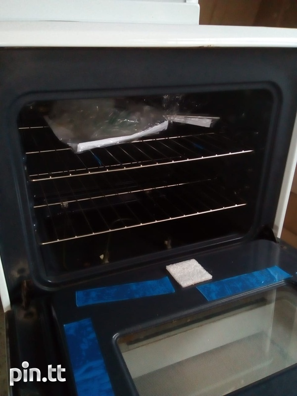 Electric Stove and Hood-2