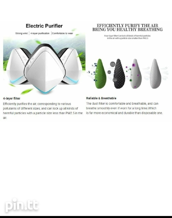 Electric Smart Face Mask-2