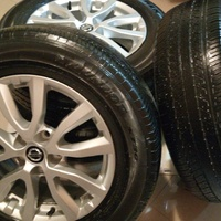 Xtrail Rims and Tyres.