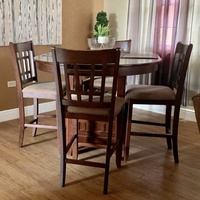 Dining Room Set and 3 piece recliner couch set combo