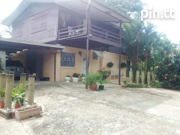 21 acres Talparo, 7 houses, fully cultivated-1