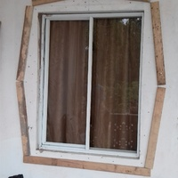 Window mouldings and painting