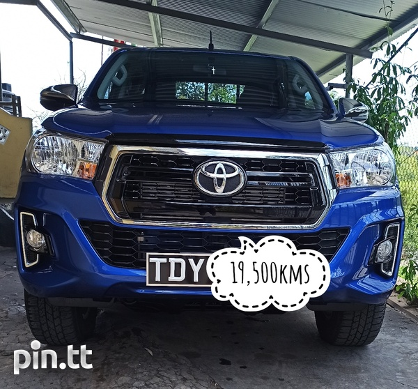 Toyota Hilux, 2019, TDY-2