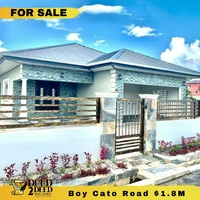NEW SPACIOUS 3 BEDROOM HOUSE, GATED COMMUNITY, BOY CATO, ST. HELENA