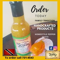 Ultimate Flavorz Homestyle Pepper Sauce -Food