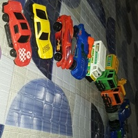 Toy cars and planes