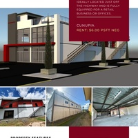 Contemporary Retail and Office Space