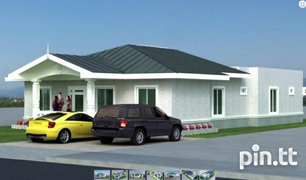 New 3 bedroom house in gated community in Chaguanas-2