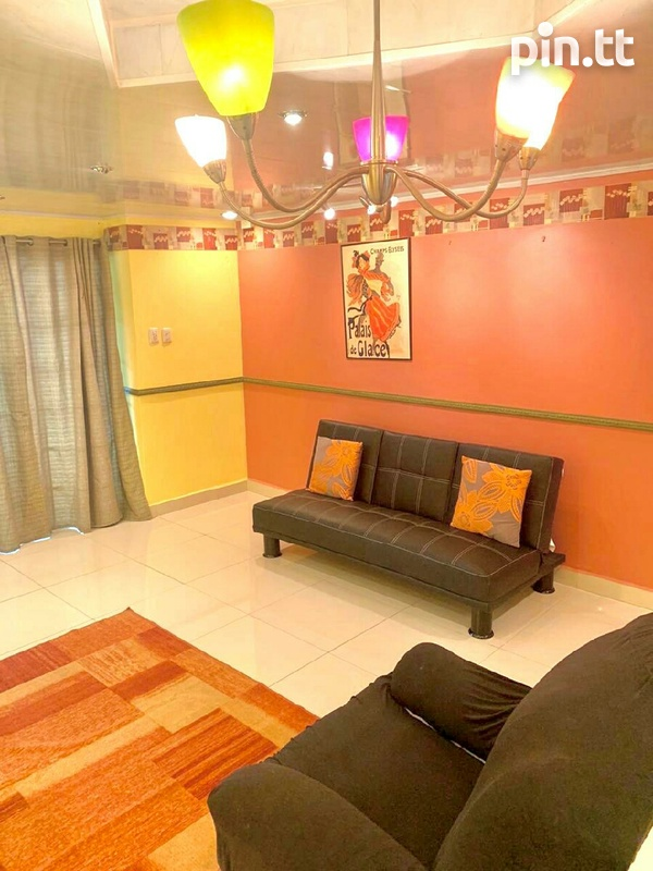 Fully Furnished 2 Bedroom Townhouse W/Pool, Valsayn South-4