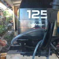 Johnson 125 outboard commercial engine