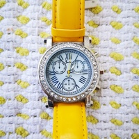 Ladies Boyfriend Watch with Mother Of Pearl Dial