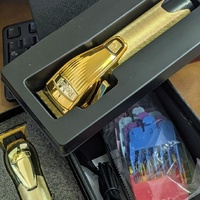 Cordless clipper and liner set