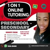 One on One Online tutoring
