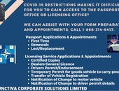 Licensing Office and Passport Appointments and Applications