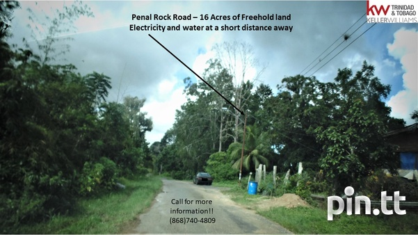 Investment Opportunity- 16 Acres of Penal Rock Road Freehold Land-2