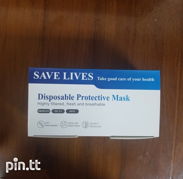 Disposable 3 Layer Face Mask-1