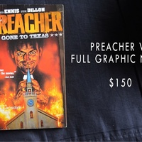 Preacher Graphic Novel Brand New