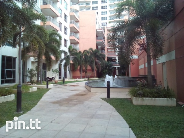 One Woodbrook Place Semi furnished One Bedroom Apartment.-1