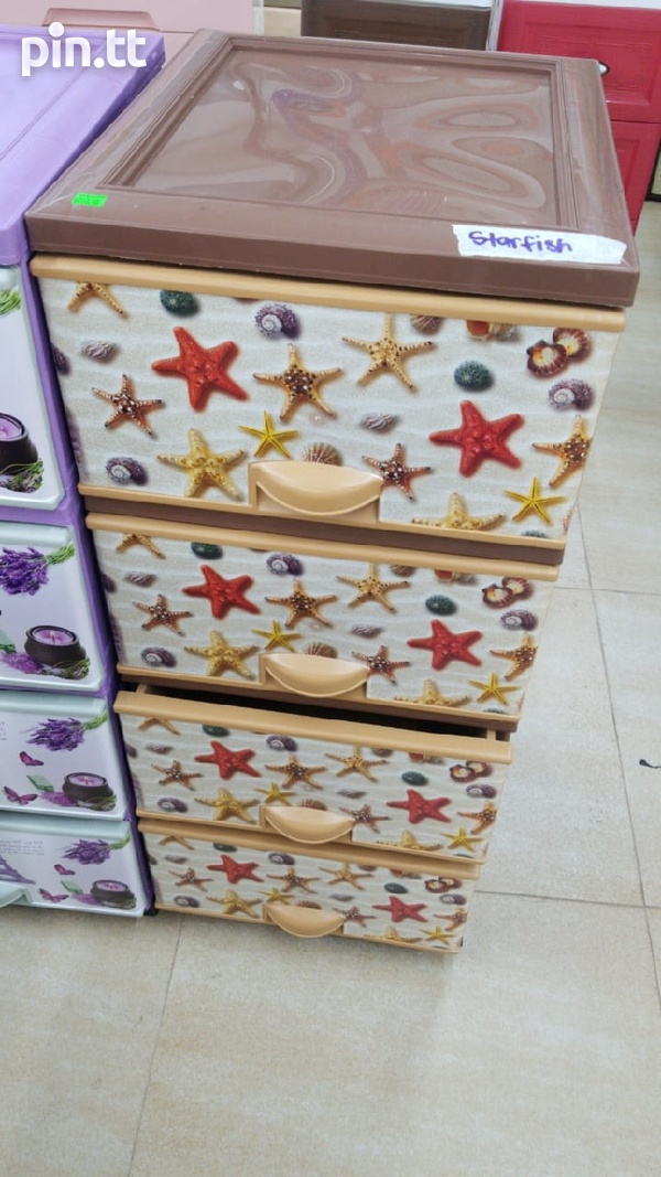 Plastic Chest of Drawers-4