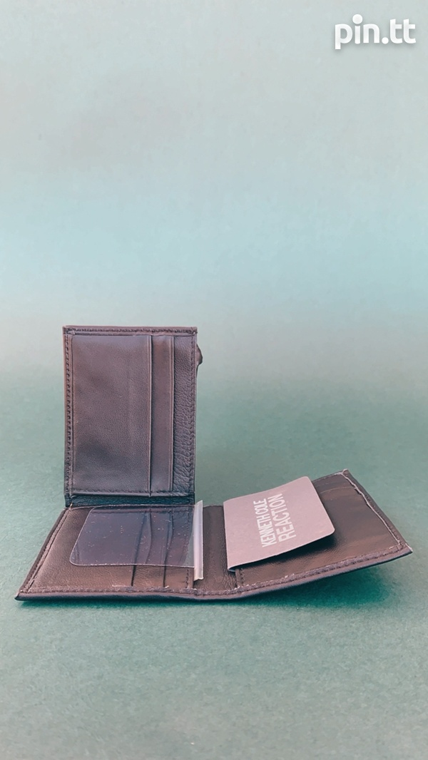 Kenneth Cole Reaction Three Fold Wallet-5