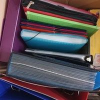 Binders and Multi Pocket Folders