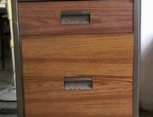 Small steel cabinet