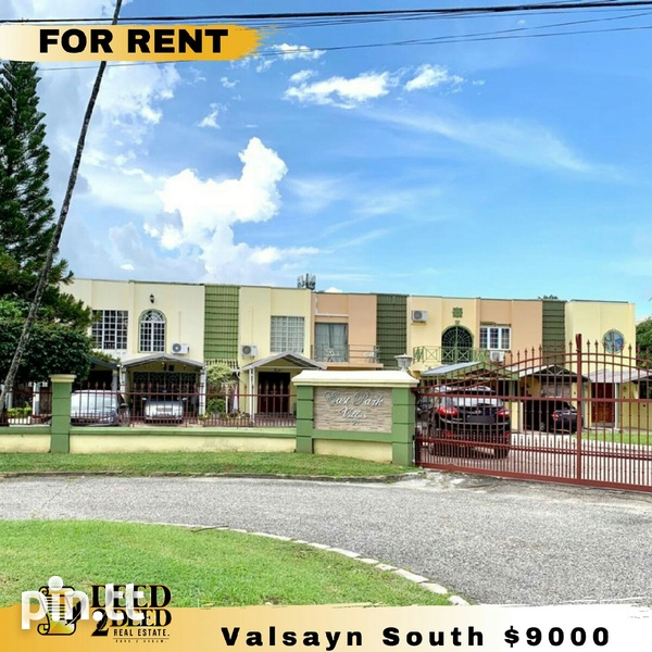 Fully Furnished 2 Bedroom Townhouse W/Pool, Valsayn South-1