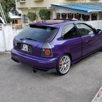 Honda Civic, 1998, PBO