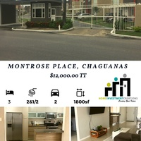 3 Bedroom Townhouse Montrose Place, Chaguanas