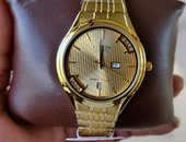 Citizen Gold Plated Men's Diamond Watch Read Details Below Carefully