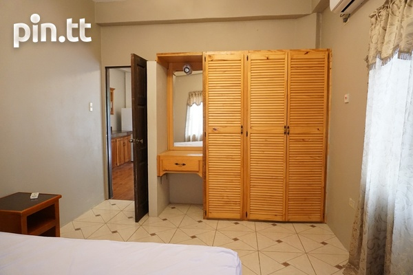 Fully Furnished Piarco One Bedroom Apartment-9